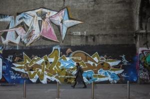 Alessandra Lanza, street art in via Morandi