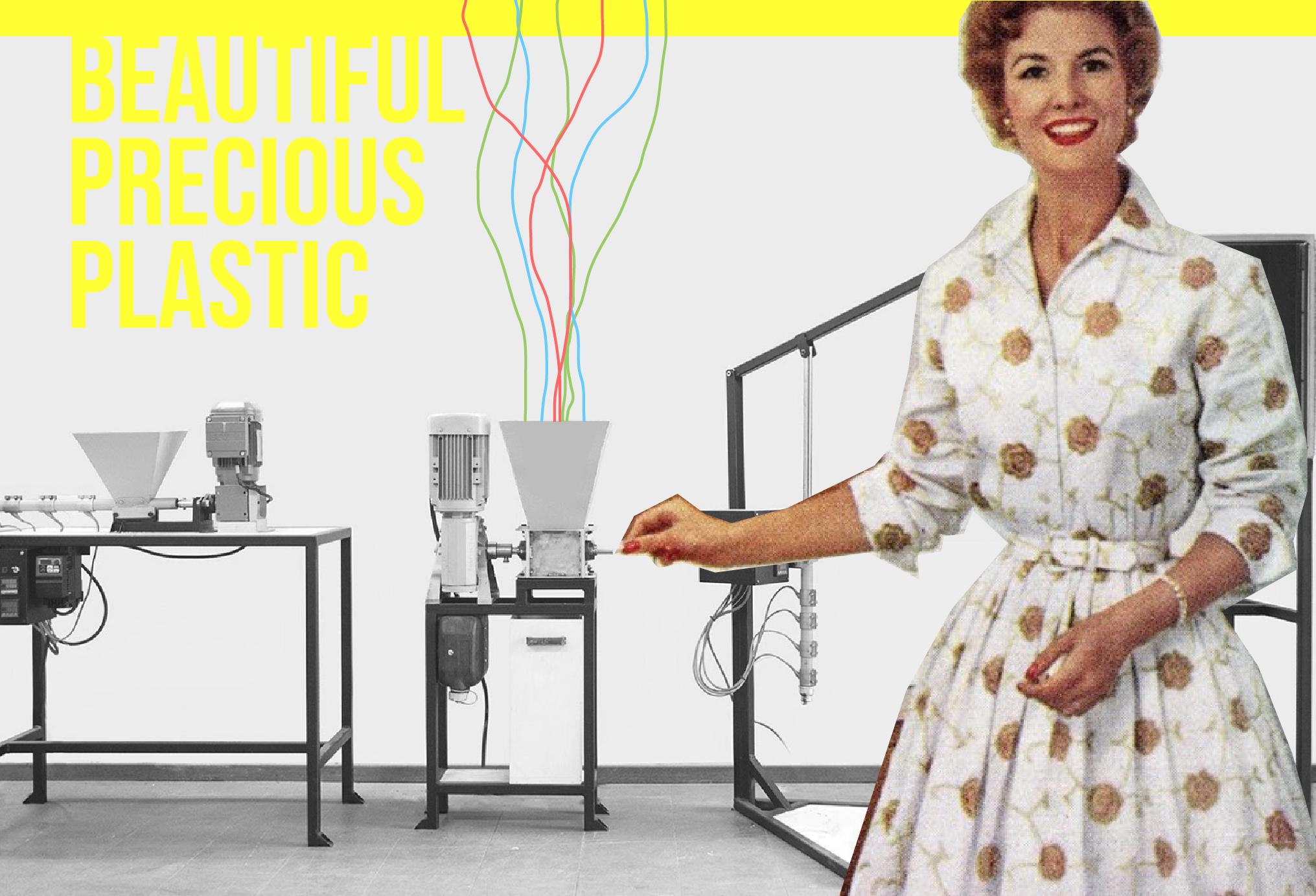 Beautiful Precious Plastic. Izmade ricicla la tua plastica creando fantastici oggetti di eco-design!