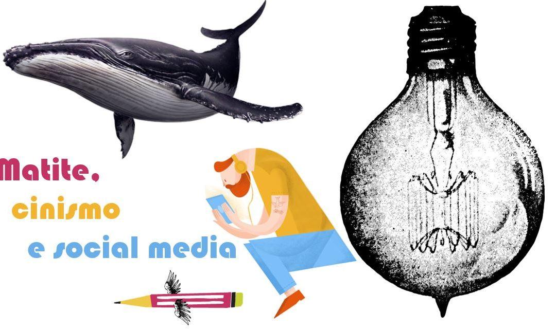 Matite, cinismo e social media