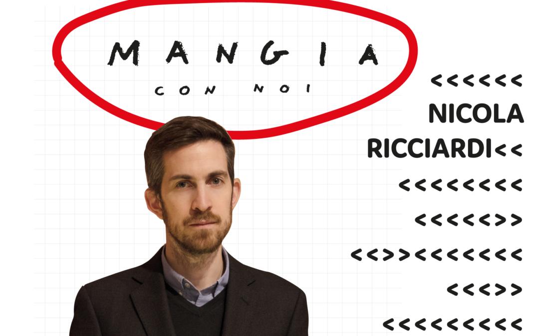 """""""MANGIA CON NOI""""  NICOLA RICCIARDI"""