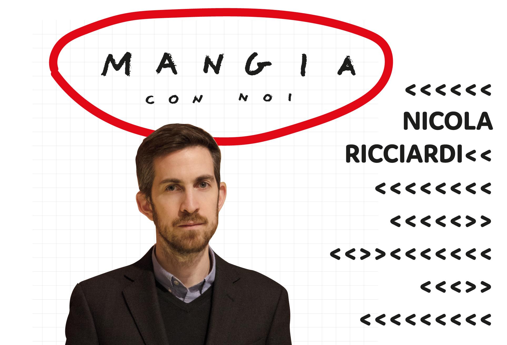 MANGIA CON NOI  Nicola Ricciardi
