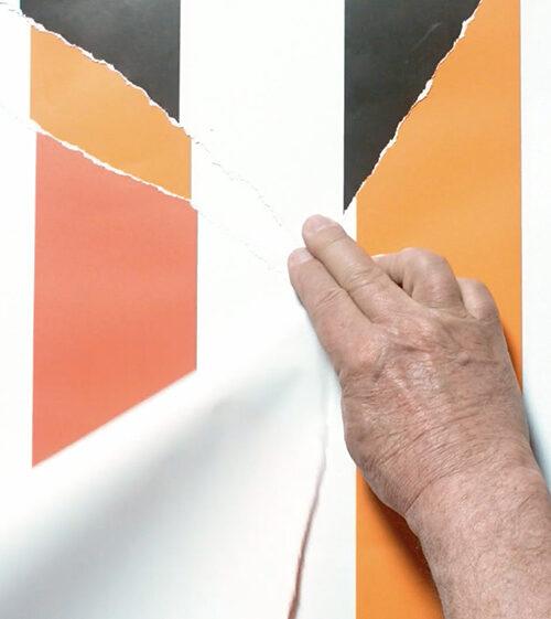 """Daniel Buren - Fuori tempo, a perdita d'occhio 2018, 6h 24' 23"""", video still -"""
