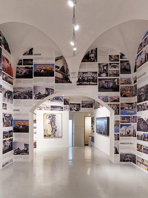 JR - Omelia Contadina 2020, exhibition view Galleria Continua, San Gimignano. Ph Ela Bialkowska, OKNO Studio