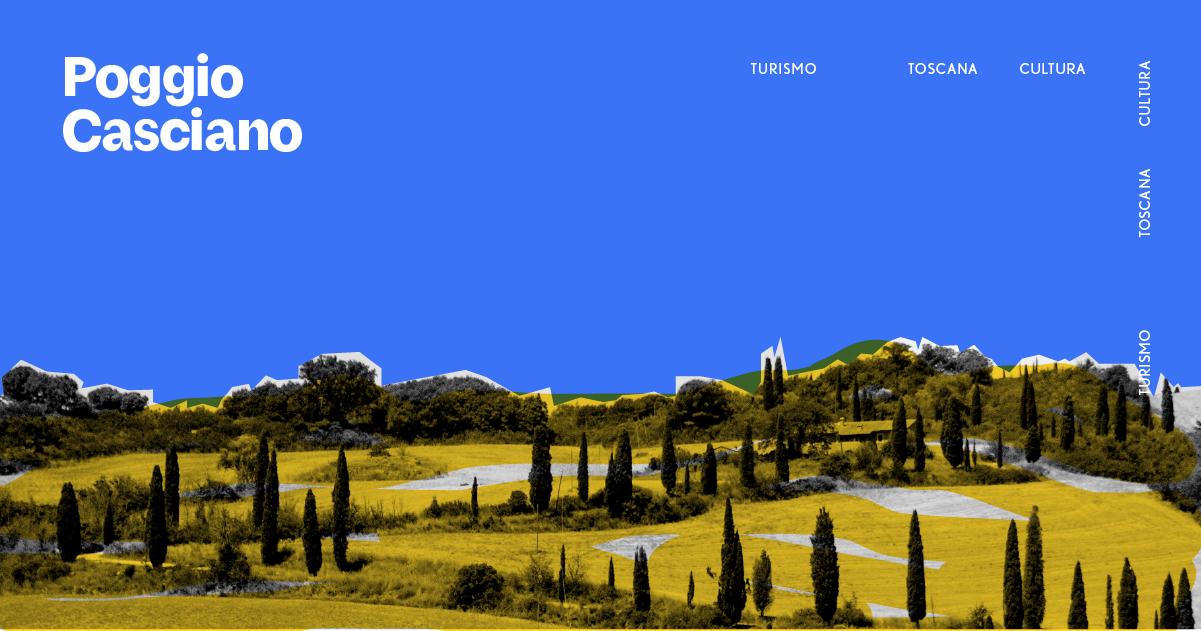 Il cuore dell'Italia è sulle colline toscane